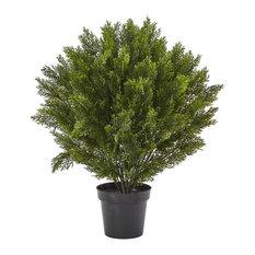 Cedar Artificial Bush in Green