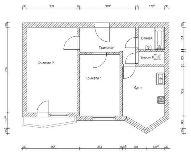 В гостях: Семейная квартира в Солнцево
