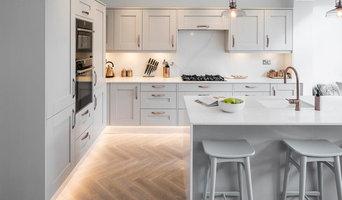 Open plan kitchen undefloor heating