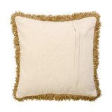 Aztec Fringed Cushion - Filled