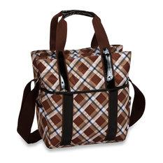 Main Liner Lifestyle Cooler Bag, Saddle Plaid