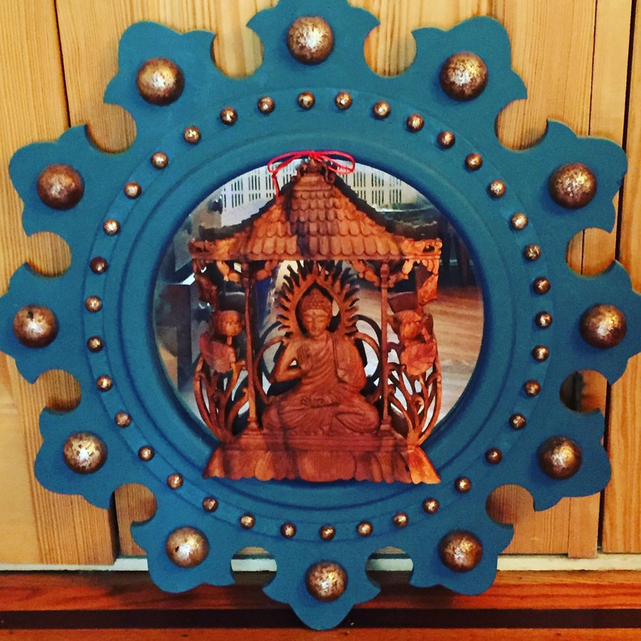 SOLD! - Spirit House Mirror