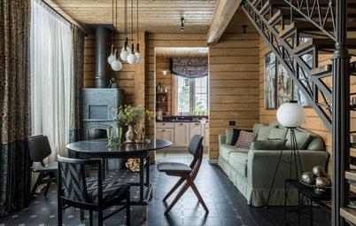 Houzz тур: Дача, ставшая семейным загородным домом