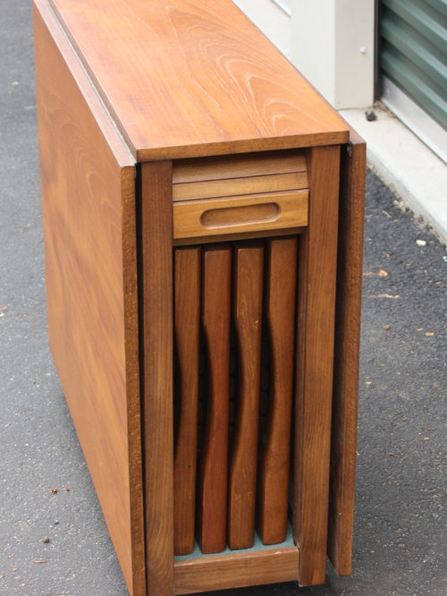 Small Antique Drop Leaf Table Images 35