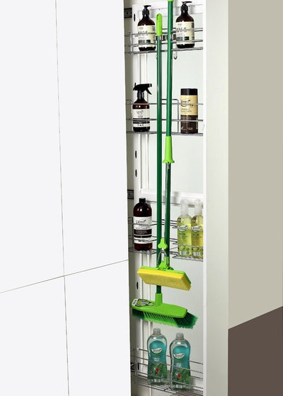 Modern  by Tansel Stainless Steel Pull Out Storage