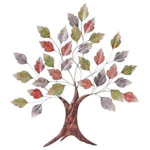 """""""Autumn Leaves"""" Wall Art, 91x102 cm"""