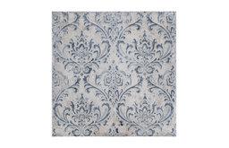 """7.88""""x7.88"""" Lombardia Decor Daman Ceramic Wall Tile, Azul, Set of 25"""