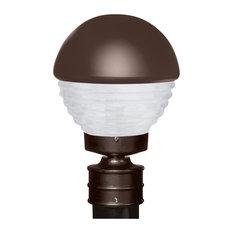 50 most popular contemporary post lights for 2018 houzz besa lighting costaluz 3061 series post bronze post lights aloadofball Images