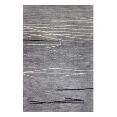 """Bashian Sydney Area Rug, Gray, 7'9""""x9'9"""""""