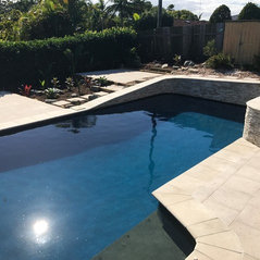 Kuluin, Australia. Kuluin Pool Landscape