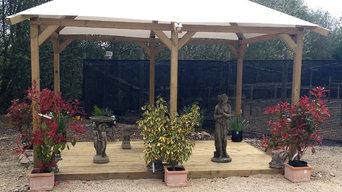 3m x 4m Garden Gazebo with PVC Roof