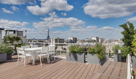 Un ático con terraza en París para disfrutar de la Torre Eiffel