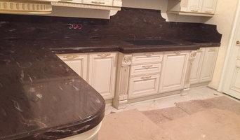 Столешница и фартук из искусственного камня на кухню!