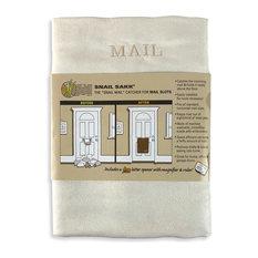 "Snail Sakk: The ""Snail Mail"" Catcher for Mail Slots, Cream"