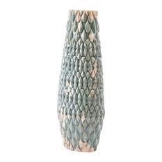 Seta Large Vase Distressed Blue
