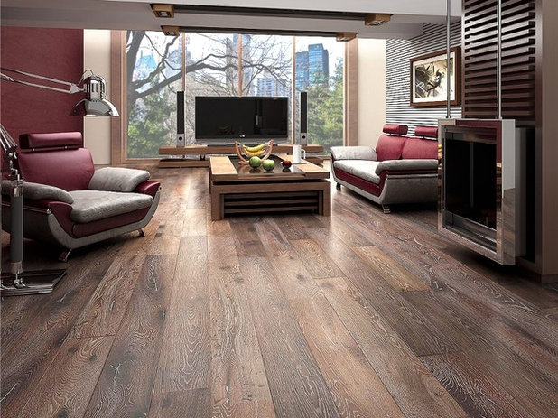 Beautiful Contemporary Hardwood Flooring By Paul Anater