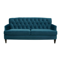 1st Avenue Sa Sofa Satin Teal Sofas