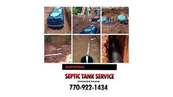 Septic Tank Installation, Alpharetta, GA