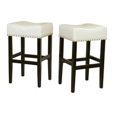 GDFStudio - Chantal Bar Stools Set of 2 Ivory - Bar Stools and Counter  sc 1 st  Houzz & Bar Stools and Counter Stools | Houzz islam-shia.org