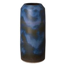 Cylinder Jar, Verdi Blue, Large