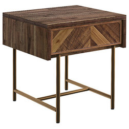 Rustic Nightstands And Bedside Tables by LIEVO