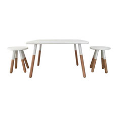 ace bayou kids dipped table and stool set white kids tables and chairs - Kid Table And Chair Set
