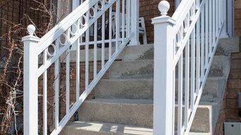 Aluminum Front Porch Railings