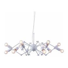 Zuo Modern Pure Sleet 12 Light Pendant