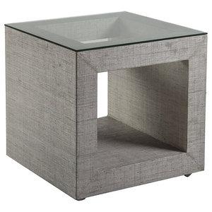 Baxton Studio Marche Black Wood Modern End Table