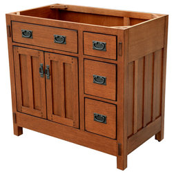 Fancy Craftsman Bathroom Vanities And Sink Consoles by Sagehill Designs