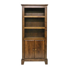 Shaker Bookcase With Lower Doors