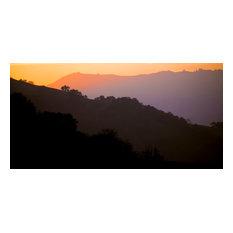 "California Canyons Gold, Camvas Giclee, 32""x16"""