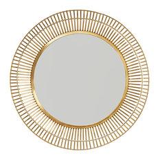 Capital Lighting Metal Frame Mirror 734006MM, Matte Gold