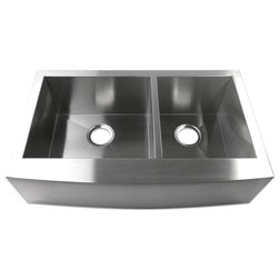 Beautiful Contemporary Kitchen Sinks Farmhouse Apron Gauge Stainless Steel Kitchen Sink Double