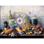 "The Tile Mural Store (USA) - Tile Mural, Olives In The Jar by Barbara Felisky - *20 Tile Mural on 6"" ceramic satin finish tiles.  AMERICAN MADE !!"