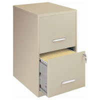 Vertical File Cabinet, Putty Color