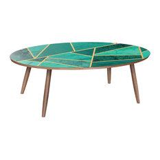 Ondine Dowel Coffee Table - Emerald Envy