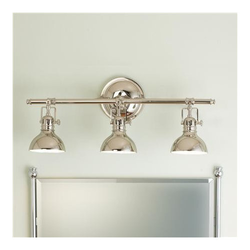 The Fixtures Are All Chrome, But Iu0027m Tempted To Use These Polished Chrome  Lights. Has Anyone Mixed Those 2 Finishes? Any Advice On How They Would  Blend?