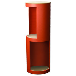Tower Display Shelf, Red