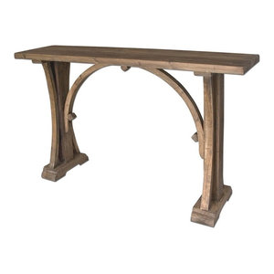 Martin Rustic Lodge Natural Brown Reclaimed Solid Wood