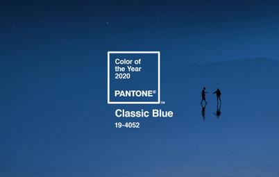 2020年のトレンド色「クラシック・ブルー」をインテリアに取り入れるなら?