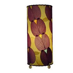 Outdoor Indoor Butterfly Table Lamp, Purple