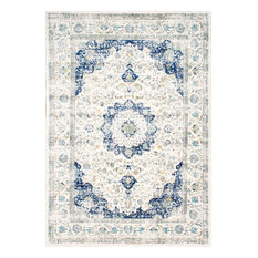 Nuloom Distressed Persian Oversized Rug Blue 10 X14 Area Rugs