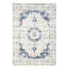 nuloom made area rug 100 blue 6u00277