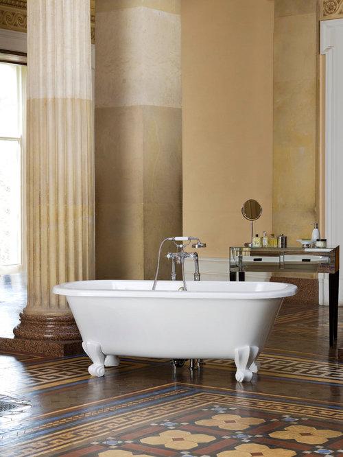 Victoria+Albert: Luxury Volcanic Limestone Bathtubs
