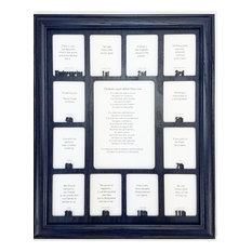 northland frames and gifts school years picture frame navy frame and navy insert picture