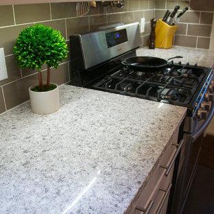 Inspiration for a transitional home design remodel in Jacksonville