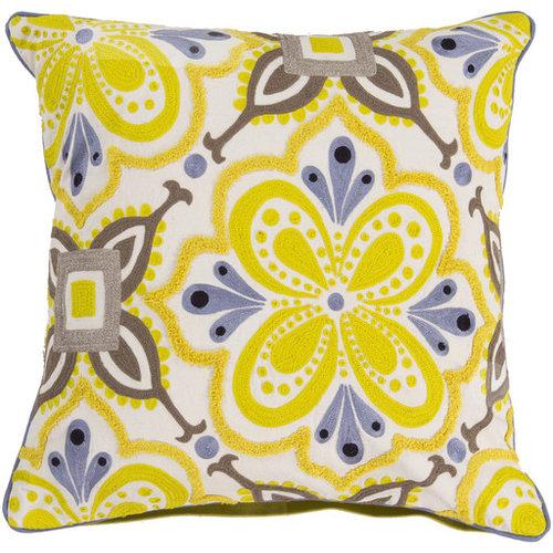 Alhambra Embroidered- (KS-013) - Decorative Pillows