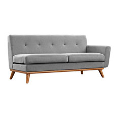Modway Engage Right-Arm Loveseat Expectation Gray