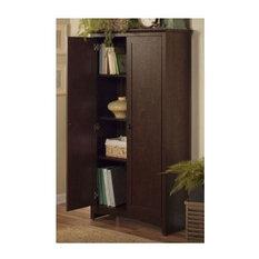 Bush - 2-Door Tall Storage Cabinet - Storage Cabinets